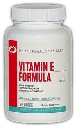 Universal Nutrition Vitamin E Formula kapszula - 100 db