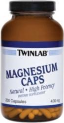 Twinlab Magnesium Caps kapszula - 200 db