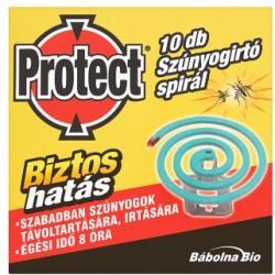 Protect Szúnyogirtó spirál 10db