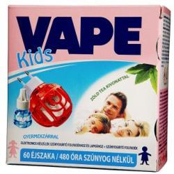 VAPE Kids elektromos készülék és szúnyogirtó folyadék