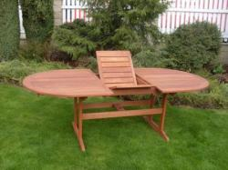 Edinburg összecsukható kerti asztal