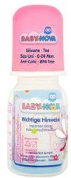 Baby-Nova Cumisüveg 0-24 hónapos korig 125ml