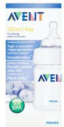 Philips AVENT cumisüveg 0-1 hónapos korig 125ml