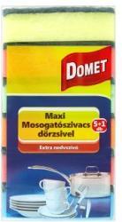 Domet Maxi mosogatószivacs dörzsivel 6db