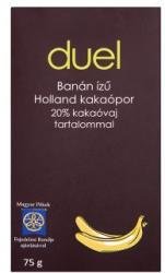 Duel Banán ízű holland kakaópor 75g