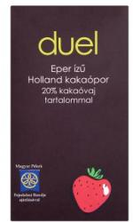 Duel Eper ízű holland kakaópor 75g
