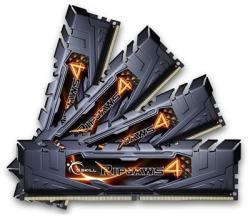 G.SKILL 16GB (4x4GB) DDR4 2400MHz F4-2400C15Q-16GRK