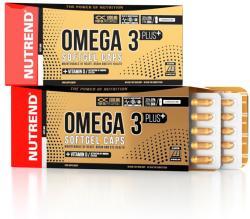 Nutrend Omega 3 Plus kapszula - 120 db