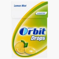 Orbit Drops Lemon Mint 33g