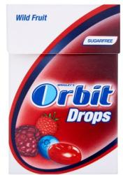 Orbit Drops Wild Fruit 33g