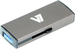 V7 Slider 16GB USB 3.0 VU316GDR-GRY-2E