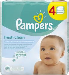 Pampers Baby Fresh Clean 4x64db