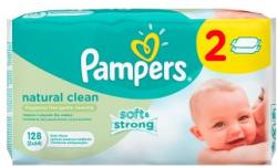 Pampers Natural Clean 2x64db