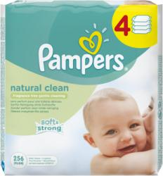 Pampers Natural Clean 4x64db