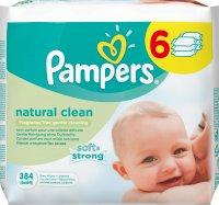 Pampers Natural Clean 6x64db