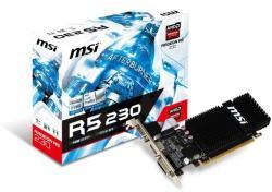 MSI Radeon R5 230 1GB GDDR3 64bit PCIe (R5 230 1GD3H LP)