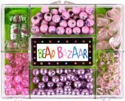 Bead Bazaar Gyöngy csokor - rózsaszirom