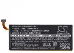 Utángyártott Huawei LI-Polymer 2000 mAh HB3742A0EBC