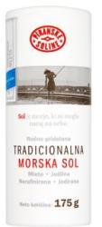 Piranske Soline Finom szemcsés jódozott tengeri sószóró 175g