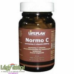 Lifeplan Normo C vitamin tabletta - 30 db