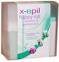 X-Epil Happy Roll gyantázó szett