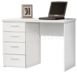 FOR-MT935 fiókos fehér íróasztal