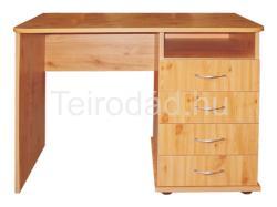 KAP 100/4F fiókos íróasztal és laptopasztal