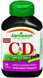 Jamieson C & D3-vitamin 500mg tabletta - 75 db
