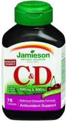 Jamieson C & D3-vitamin 500mg tabletta - 75 db