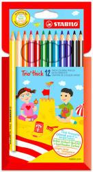 STABILO Swano Trio színes ceruza 12db