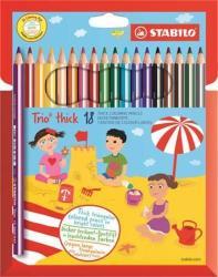 STABILO Swano Trio színes ceruza 18db
