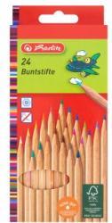 Herlitz Lakkozott színes ceruza 24db