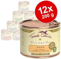 Terra Canis Turkey & Vegetables 12x200g