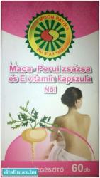 Big Star Maca perui zsázsa kapszula nőknek E-vitaminnal - 60 db