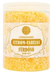 Yamuna Natural Beauty Citrom-fahéjas fürdősó 1kg