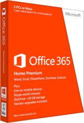 Microsoft Office 365 Home Premium P2 ENG (1 User, 1 Year) 6GQ-00684