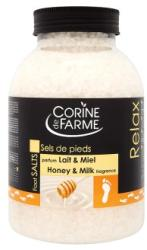 Corine de Farme Honey & Milk fürdősó 1.3kg