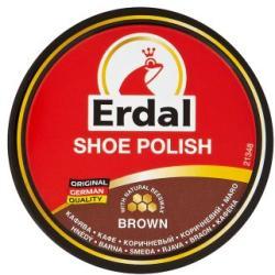 Erdal Shoe Polish barna cipőkrém 55ml