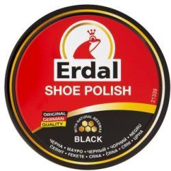 Erdal Shoe Polish fekete cipőkrém 55ml