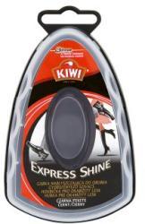 KIWI Express Shine fekete gyorsfényező szivacs 7ml