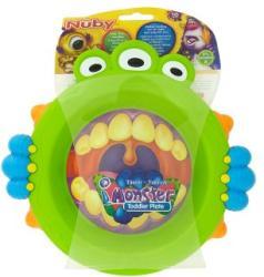 Nuby Monster tányér 18 hónapos kortól
