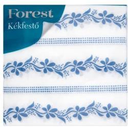 Forest Kékfestő 1 rétegű szalvéta 33x33cm 45db