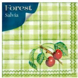 Forest Salvia 1 rétegű szalvéta 33x33cm 45db