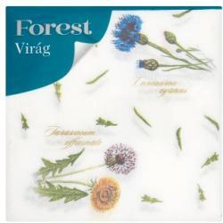 Forest Virág 1 rétegű szalvéta 33x33cm 60db