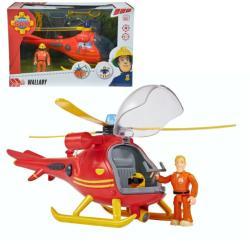 Simba Sam, a tűzoltó - Tom figura helikopterrel