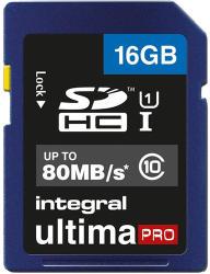 Integral SDHC 16GB Class 10 INSDH16G10-80U1