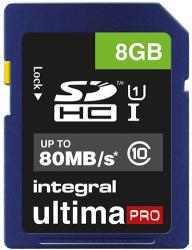Integral SDHC 8GB Class 10 INSDH8G10-80U1
