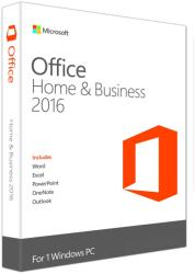 Microsoft Office 2016 Home & Business for Win ROU T5D-02814