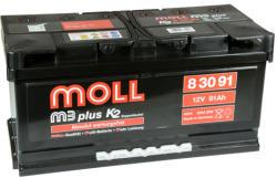 Moll m3 plus K2 91Ah 800A