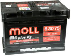 Moll m3 plus K2 75Ah 680A
